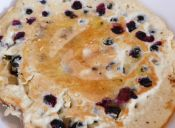 Cómo hacer una Tortilla dulce de arándanos