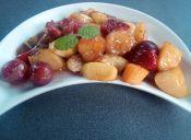 Cómo hacer Frutas acarameladas a la parrilla