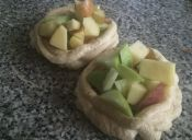 Cómo hacer un aro de merengue con frutas