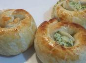 Prepara rolls de ricotta y brócoli
