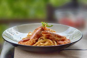 Cómo preparar pasta con camarones