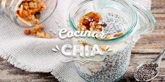 Increíbles y deliciosas recetas con chía