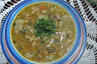 Cómo preparar la sopa Juanita (receta vegetariana)