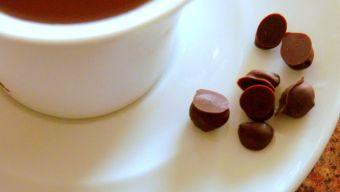 Cómo hacer granitos de café con chocolate