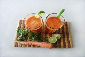 Smoothie de carotenos: saludable y delicioso