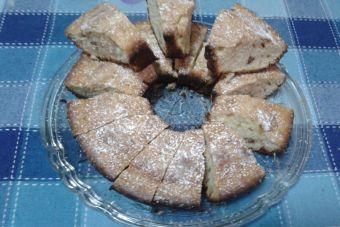 Cómo preparar brownies de chocolate blanco