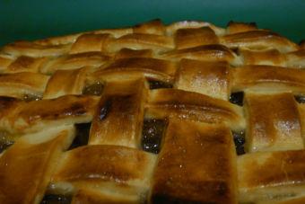 Receta: Kuchen de Manzana con mermelada de manzana y naranja casera