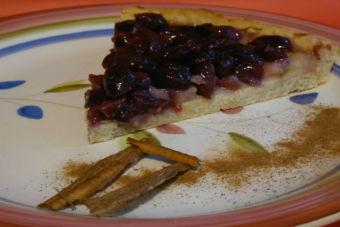 Prepara una Tarta de Uvas Moradas