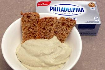 Receta: Salsa de alcachofas y queso crema Philadelphia