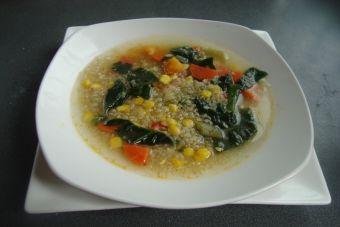 Sopas de Invierno: Sopa de verduras con quínoa