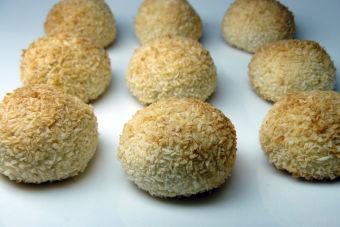 Prepara Galletas Bombón de Coco Veganas