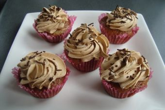 Prepara Cupcakes de Nutella