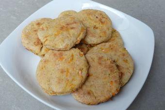 Cómo preparar scones de zanahoria