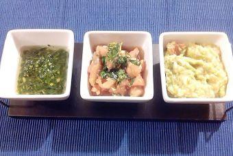 Prepara 3 salsas para untar