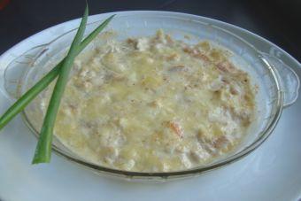 Prepara un gratín de camarones