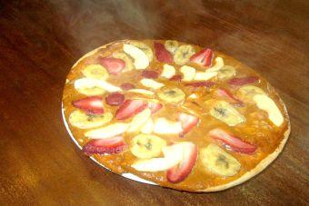 Prepara pizza ¡de postre!