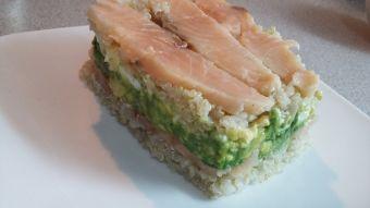 Cómo preparar un timbal de salmón