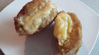 Prepara pollo relleno con queso
