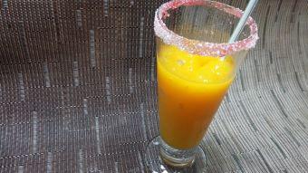 Cómo preparar granizado de mango