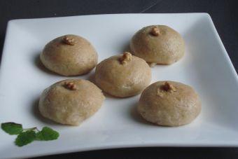Prepara sekerpare (dulce turco)