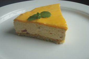 Prepara una torta fría de papaya