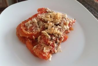 Cómo hacer gratinado de tomates