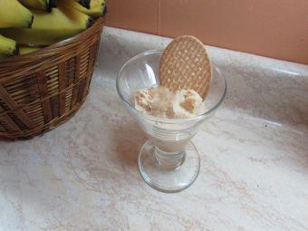 Preparar helado de Manjarate