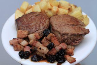 Cómo cocinar lomo a la piamontesa