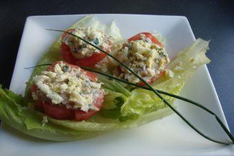 Preparar tomates estilo mediterráneo