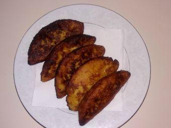 Empanaditas de plátano rellenas de queso