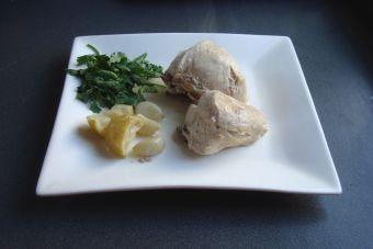 Cómo cocinar pollo cítrico al ajillo