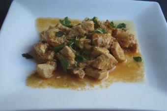 Cocinar pollo tikka masala