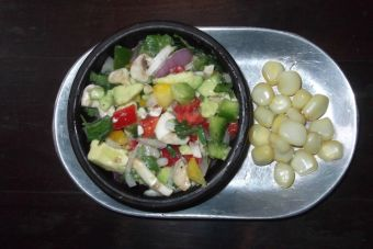 Hacer ceviche vegano de verduras