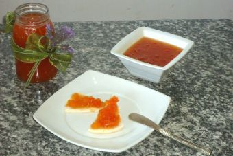 Preparar mermelada de tomate