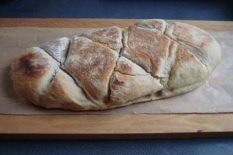 Cómo preparar chapata (pan italiano)