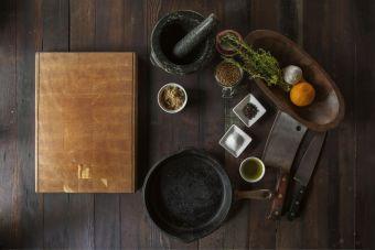 Datos de alimentos para cocinar