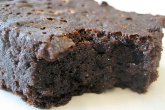 Receta brownie vegano de porotos negros