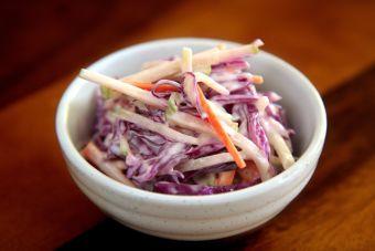 Coleslaw: ensalada americana de repollo