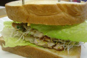Sandwich de: Garbanzos, receta vegana