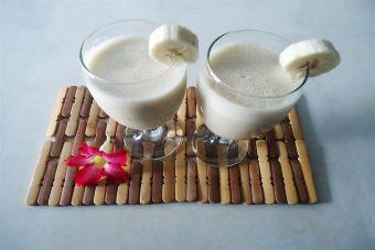 Smoothie de plátano y jengibre