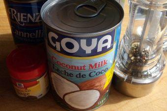 4 preparaciones con: Leche de coco