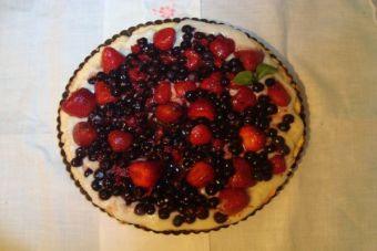 Receta: Tarta de Berries
