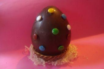 Huevitos de chocolate caseros