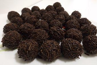 Receta: Trufas de chocolate al ron