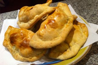 Empanadas de chorito-queso (al horno)