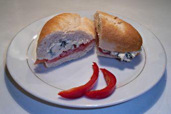Sandwich de Queso Roquefort