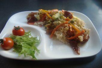 Paella Vegetariana de cochayuyo