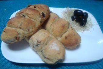 Mini baguette de Aceituna ajo