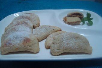 Galletas rellenas con Manjar