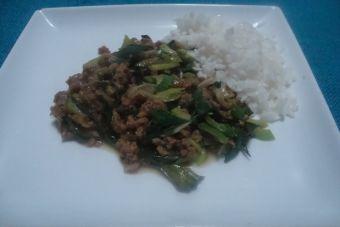 Carne de Soya mongoliana